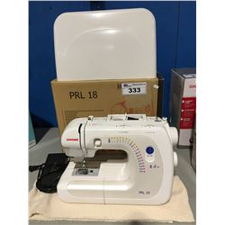 JANOME MODEL PRL18 45 STITCH FUNCTION PORTABLE SEWING MACHINE