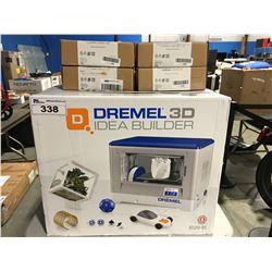 DREMEL 3D IDEA BUILDER PRINTER WITH 4 SPOOLS OF FILAMENT