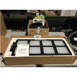 MALVERN HYDRO LED GROW LIGHT & VIVO SUN INCLINE DUCT VAN WITH VARIABLE SPEED CONTROL