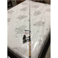 SHAKESPEARE UGLY STIK ELITE FISHERMANS SPINNING ROD WITH REEL