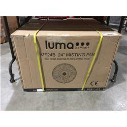 """LUMA COMFORT MF24B 24"""" MISTING FAN"""