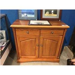SOLID WOOD 2 DRAWER BUFFET CUPBOARD MADE IN NEW ZEALAND