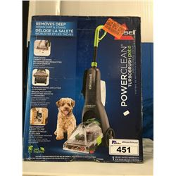 BISSEL POWER CLEAN TURBO BRUSH PET DEEP CLEANING SYSTEM
