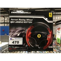 THRUST MASTER FERRARI RACING WHEEL FOR PS3/PC