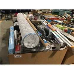 PALLET LOT OF ASSORTED STORE MERCHANDISE