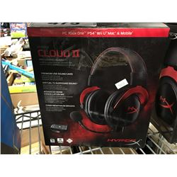 CLOUD 2 HYPER X PRO GAMING HEADSET