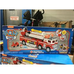 NICKELODEON PAW PATROL ULTIMATE FIRE TRUCK