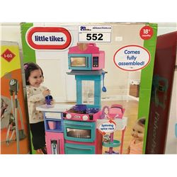 LITTLE TIKES COOK & STORE KITCHEN