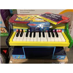 MELISSA & DOUG LEARN TO PLAY PIANO SET (4 STICKY KEYS)