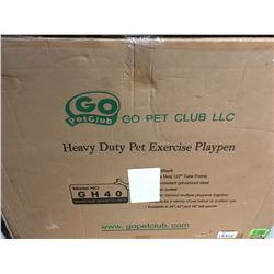 GO PET CLUB HEAVY DUTY PET EXERCISE PEN