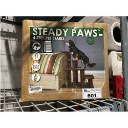 STEADY PAWS 4 STEP PET STAIRS