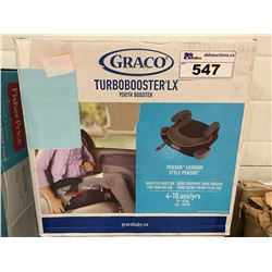 GRACO TURBO BOOSTER LX YOUTH BOOSTER SEAT