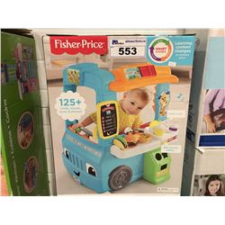 FISHER PRICE SERVING UP FUN FOOD TRUCK