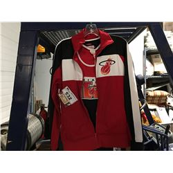 NBA MIAMI HEAT JACKET & JERSEY SET SIZE M