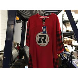 REEBOK CFL RED/BLACK JERSEY SIZE S