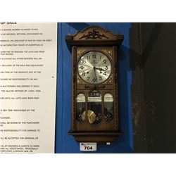 INTERNATIONAL 31 DAY WALL CLOCK