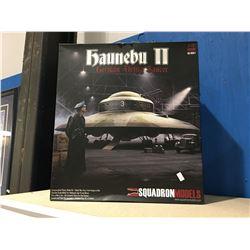 SQUADRON MODELS HAUNEBU 2 GERMAN FLYING SAUCER MODEL