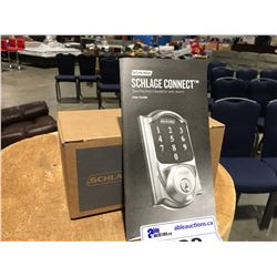SCHLAGE CONNECT TOUCH SCREEN DEADBOLT WITH ALARM