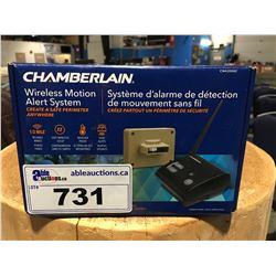 CHAMBERLAIN WIRELESS MOTION ALERT SYSTEM