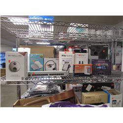ELGATO EVE AQUA SMART WATER CONTROLLER, SKYBELL HD WI-FI VIDEO DOORBELL, TP-LINK RANGE EXTENDER,