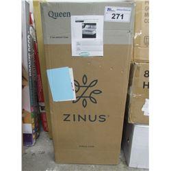 "ZINUS 4"" QUEEN GEL MEMORY FOAM MATTRESS TOPPER"