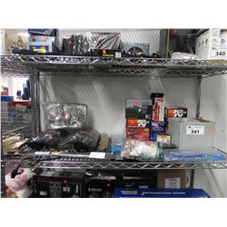 AUTOMOTIVE LIGHTS, REAR VIEW MIRRORS, K&N HIGH-FLOW AIR FILTER, KORALIA CIRCULATION AND WAVE PUMP,