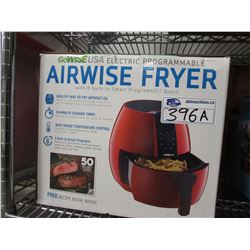 GOWISE AIRWISE FRYER WITH 8 BUILT-IN SMART PROGRAMS (3.7 QUART)