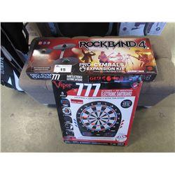 ROCKBAND 4 & ELECTRONIC DARTBOARD