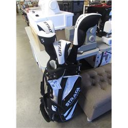 CALLAWAY MENS STRATA ULTIMATE GOLF CLUB & CADDY BAG SET