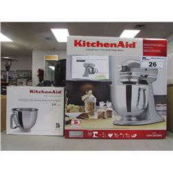 KITCHENAID KSM150PSMC ARTISAN 5 QUART STAND MIXER & BOWL