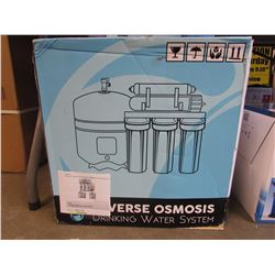 GEEKPURE 5 STAGE REVERSE OSMOSIS DRINKING WATER SYSTEM & ACCESSORIES