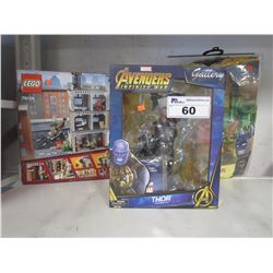 LEGO MARVEL AVENGERS INFINITY WAR SANCTUM SANCTORUM SHOWDOWN, MARVEL THOR TOY, LEGO BATMAN ROBIN