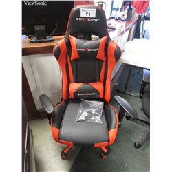 RED/BLACK GT RACING GAMER & OFFICE CHAIR