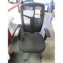 LORELL BLACK MESH OFFICE CHAIR