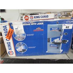 "KING CANADA 9"" BANDSAW WITH LASER"
