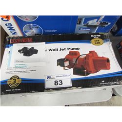 RED LION RJS-75-PREM PREMIUM CAST IRON SHALLOW WALL JET PUMP