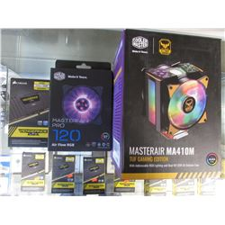 COOLERMASTER MASTERAIR MA410M TUG GAMING EDITION, CORSAIR VENGEANCE LPX RAM MODULES 2X 8GB 2666MHZ