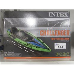 "INTEX K2 CHALLENGER TWO-PERSON KAYAK 11' 6"" X 2' 6"""