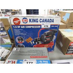 KING CANADA 1.5 HP AIR COMPRESSOR MODEL 8449C