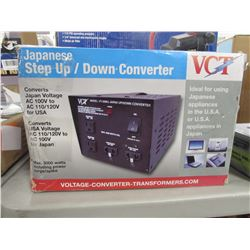 VCT JAPANESE STEP UP/DOWN CONVERTER