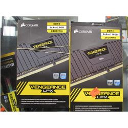 CORSAIR VENGEANCE LPX 2400MHZ DDR4 RAM MODULES (24GB TOTAL)
