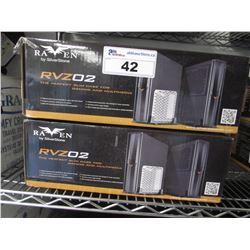 2 NEW SILVERSTONE RAVEN RVZ02 SLIM COMPUTER CASES