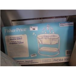 FISHERPRICE SOOTHING MOTIONS BASSINET