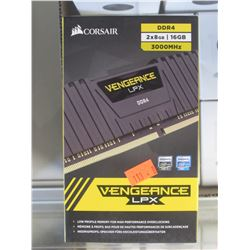 CORSAIR VENGEANCE LPX RAM MODULES 2X 8GB 3000 MHZ DDR4
