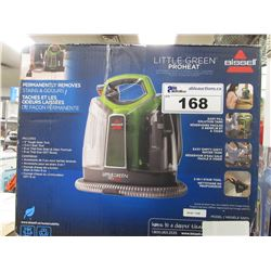BISSEL LITTLE GREEN PRO HEAT PORTABLE CARPET & UPHOLSTERY CLEANER