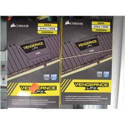 CORSAIR VENGEANCE LPX 2400MHZ DDR4 RAM MODULES (32GB TOTAL)