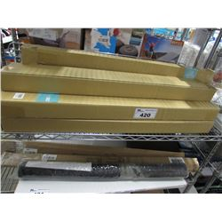 LARGE LOT OF CHIC OLOGY BLINDS