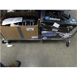 AUTOMOTIVE HUB CAPS & ASSORTED PARTS
