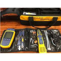 NEW FLUKE NETWORKS NETWORK CABLE TESTING KIT