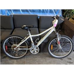 WHITE INFINITY DESTINY 21-SPEED MOUNTAIN BIKE